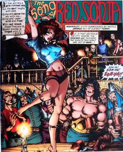 Son-Ya, pas encore Red Sonja, une création de Roy Thomas