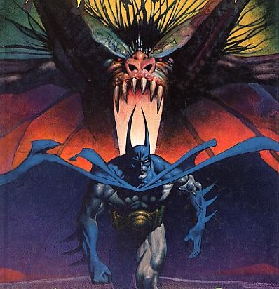 Quand le Bat-man se bat contre le Man-bat…