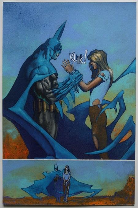 Batman: Un homme de principe qui ne rigole pas avec les lois…