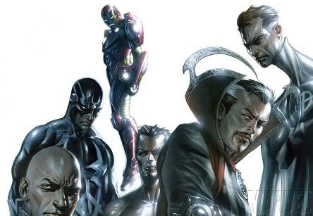 Les intellos de chez Marvel!