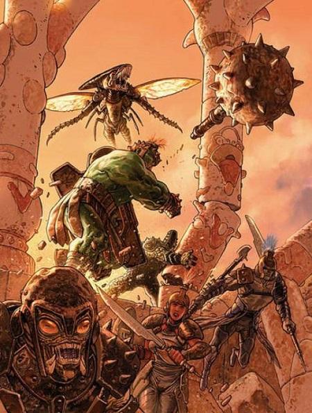 Hulk et sa planète…