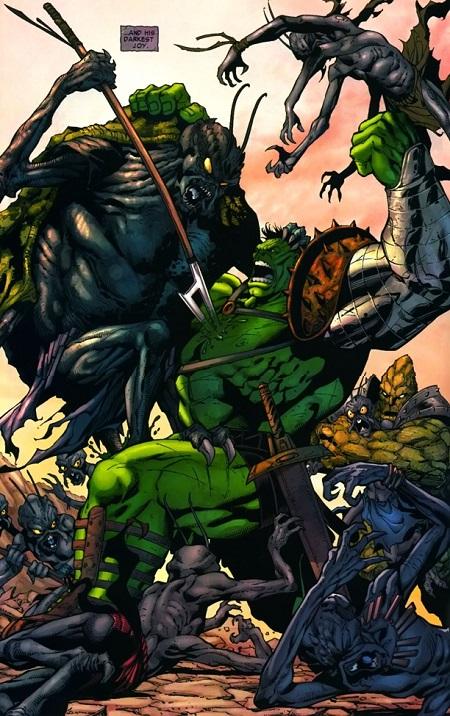 Quand Hulk rencontre ses nouveaux amis…
