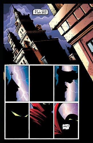 Les éclairs en provenance directe de Dark Knight returns