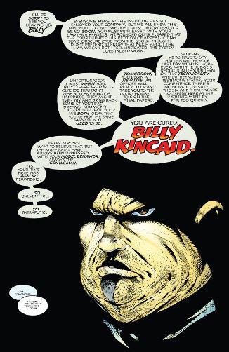 L'inoubliable Billy Kincaid (et de copieux phylactères)