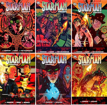 Initialement compilée dans 10 TPB (avec quelques omissions), la série a été republiée en intégralité dans 6 omnibus
