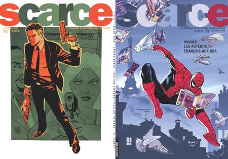 Scarce 73: pour un mag français sur les comics américains, quoi de plus naturel que de s'intéresser aux auteurs français ayant œuvré outre-Atlantique?