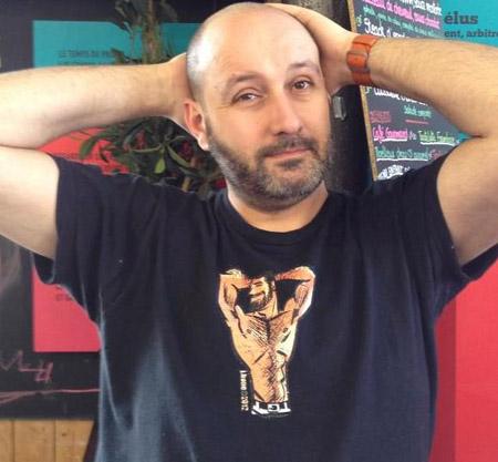 Xavier Lancel: grand fan de comics… et de torses velus! Si vous voulez en voir plus, visitez http://chestofchests.blogspot.fr/