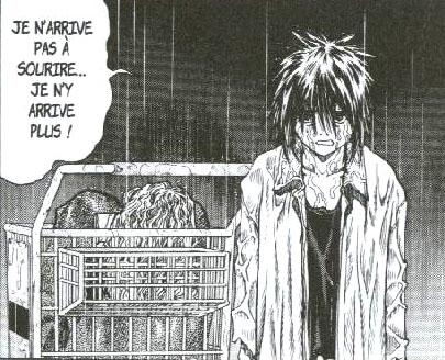 Après la mort de son grand père, Jin a le moral dans les chauzettes