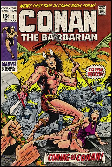 Les débuts de notre héros dans le monde des comics, sous la houlette du grand Barry Windsor Smith!