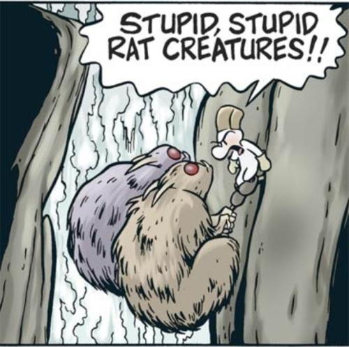 Les rats garous : les Dupondt de la série