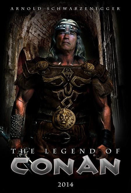 La Légende de Conan: Le cinéma a ses arlésiennes! (Ceci est une fausse affiche)…
