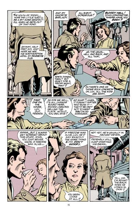 John Constantine, toujours aussi proche du peuple!