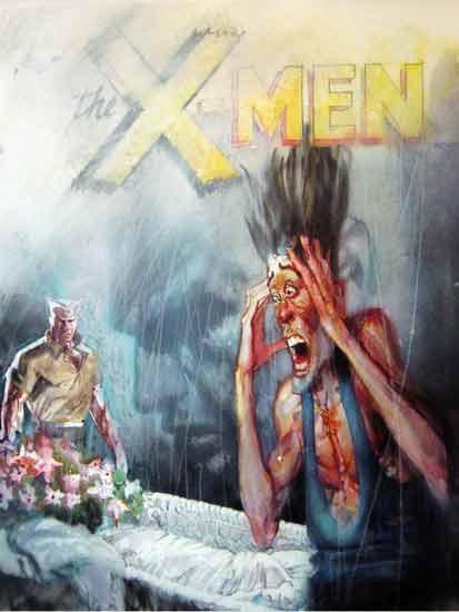 Marvel avait organisé les funérailles de Xavier à lépoque