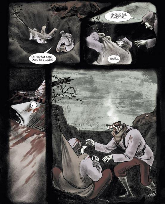 La mort a encore tranchée)...