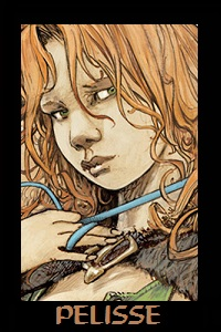 Une héroïne sensuelle et sans suite....Les amateurs comprendront....