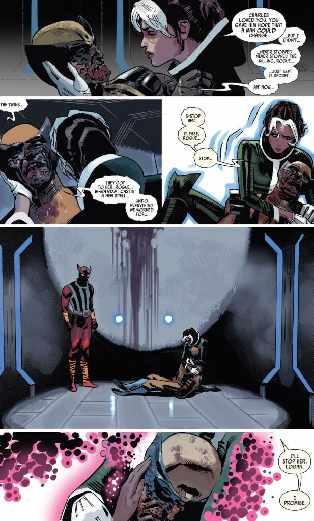 Wolverine brisé !