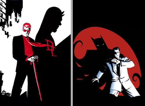 Bruce et Matt: deux orphelins, dessinés par Sean Phillips et Alex Maleev.