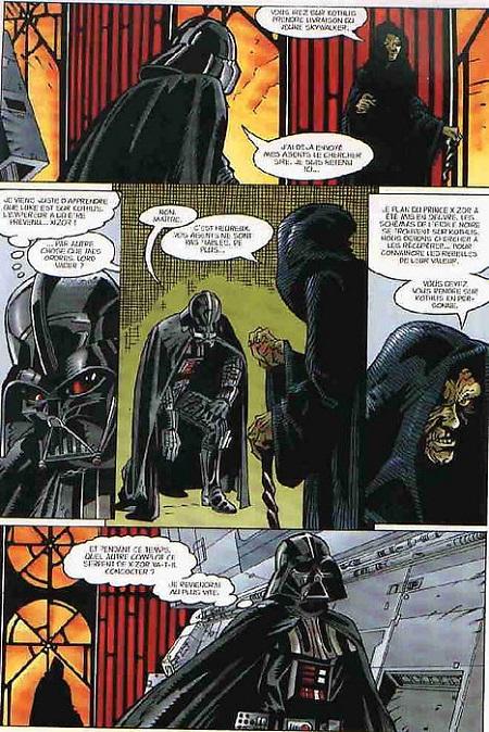 L'Empereur Palpatine apparait en chair et en os! Et ceci avant la première séquence du Retour du Jedi…