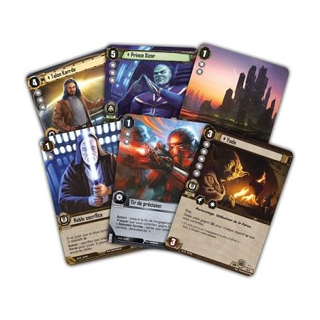 Les Ombres de l'Empire, c'est enfin… des trading cards!