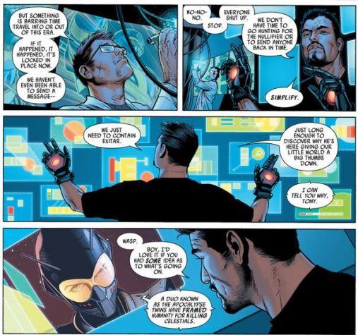 Tony Stark apporte quelques explications bienvenues