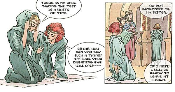 Les illustrations de Charles Vess pour le hors série consacrée aux soeurs ennemies Rose et Briar