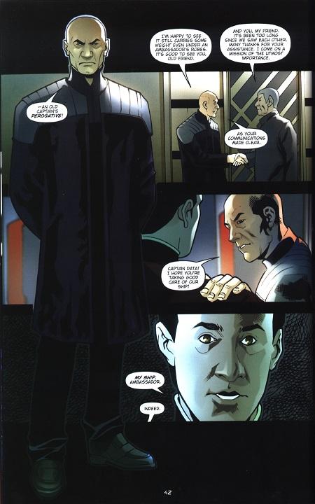 Picard, Data, Spock. Ils sont venus ils sont tous là!