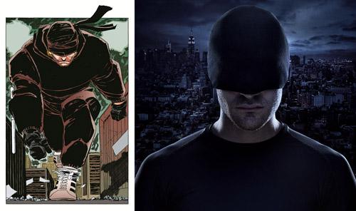 Noir c'est noir, y compris au niveau du costume…