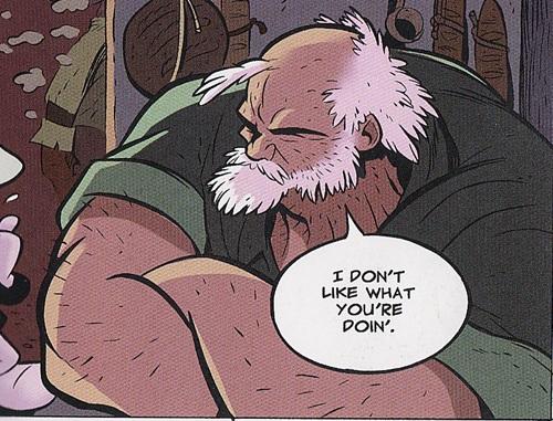 Bourru mais honnête : Lucius Down, le capitaine Haddock de la série