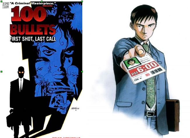 Les agents Graves et Fujimoto et leurs mallettes maudites....