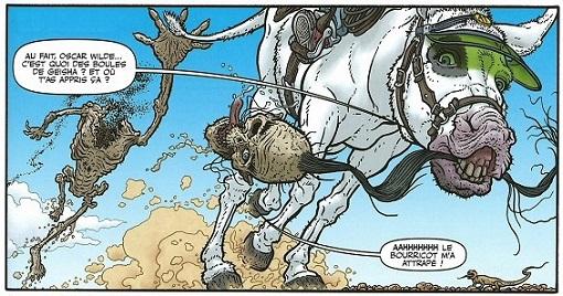 L'âne et son bavardage incessant (c'est quoi une boule de geisha ?)
