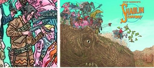 Saurez-vous retrouver le détail (à gauche) dans l'image globale (à droite)?