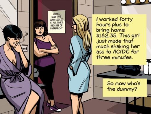 Le salaire d'une stripteaseuse