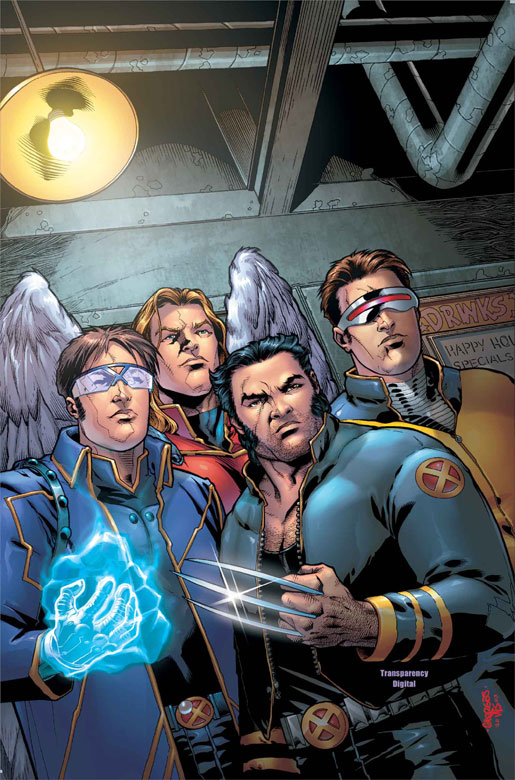 Les Xmen et leur look pourri de l'époque au secours  de la série