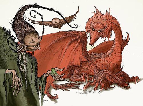 Malvéliande et le dragon