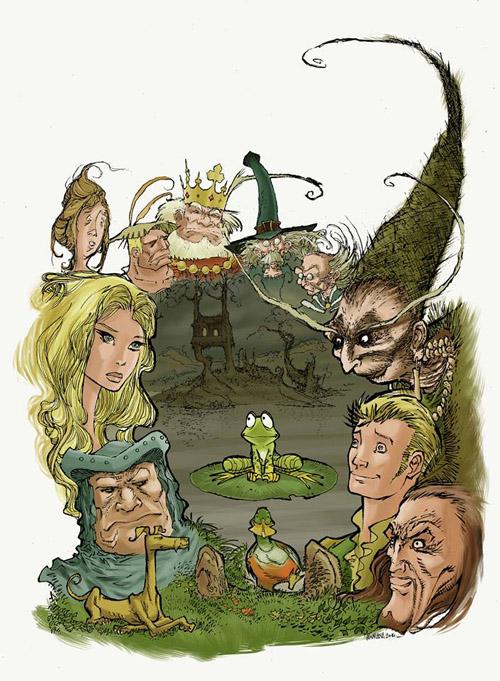L'ensemble des personnages du livre premier