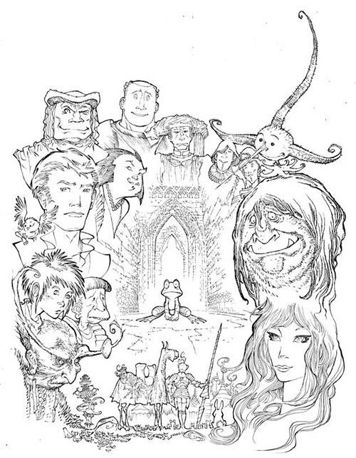 Le casting du livre second