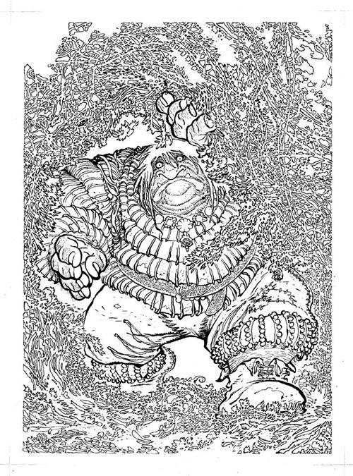 Bruno Maïorana : un dessinateur jamais avare de détails…