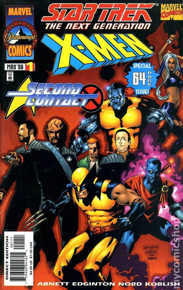 Deuxième et dernière tentative de crossover Mutants/Star trek