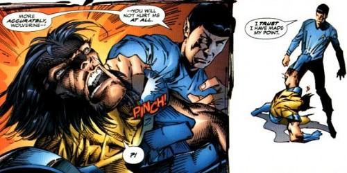 Spock 1 Wolverine 0