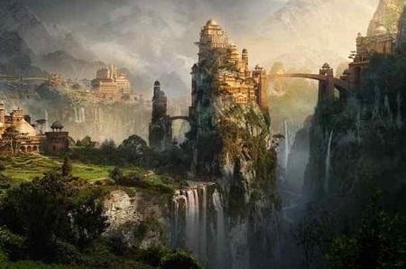 "La cité de ""Shangrila"" : Le paradis selon Kerry Conran !"