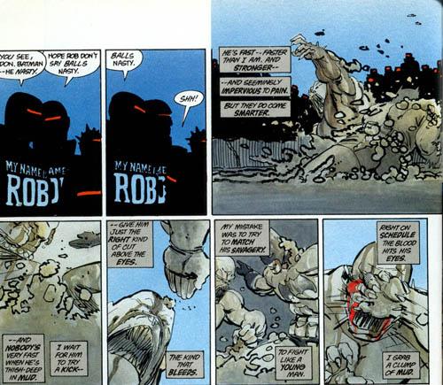 Batman a un plan mûrement réfléchi pour gagner ce combat…