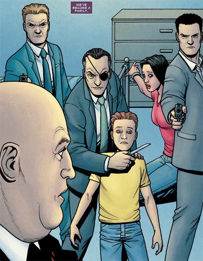 La vie d'un père dans la mafia