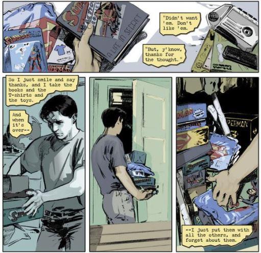 Que des cadeaux thématiques pour Clark Kent