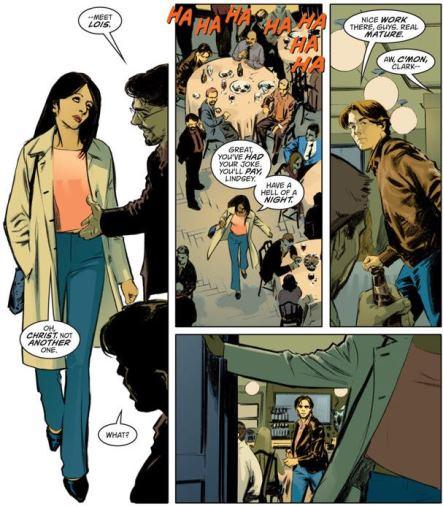 Rendez-vous arrangé par les copains entre Clark… et Lois