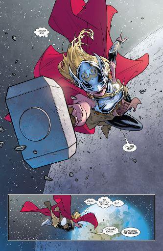 Une Thor femme, et pourquoi pas un Thor grenouille ?