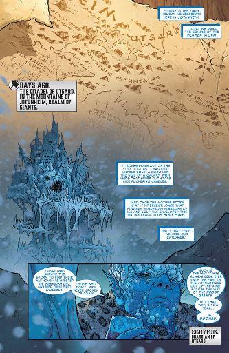 La citadelle d'Utgard, dans les montagnes de Jotunheim
