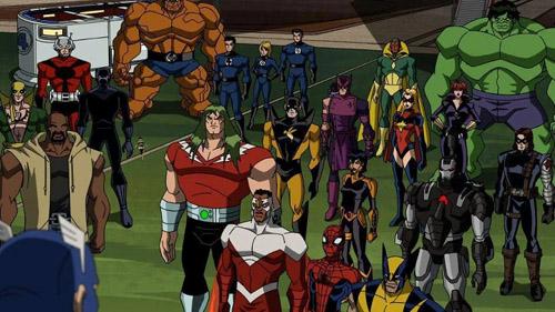 Dans l'ultime épisode, Captain America fait appel à tous les héros de la Terre pour faire face à… Galactus !
