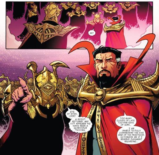 Doctor Strange : parti en éclaireur dans des contrées insondables
