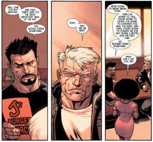 Tony Stark : nous allons rompre le pain