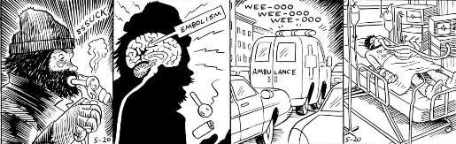 Le cerveau cramé